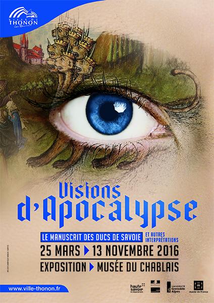 Visions d'Apocalypse Musée du Chablais 2016 Manuel Santos